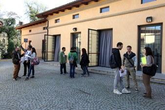aula A via Azzo Gardino