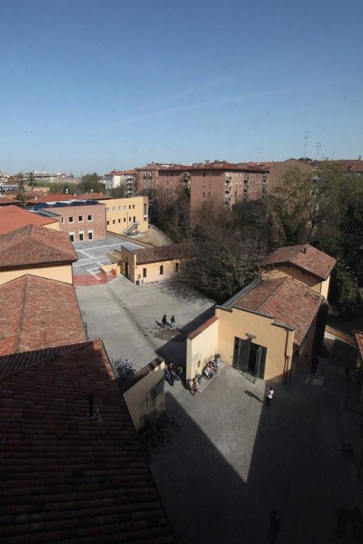 sede via Azzo Gardino dall'alto